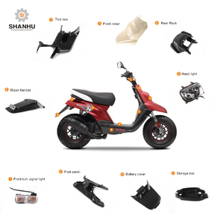 High quality taizhou custom scooter motorcycle plastic body kit parts  accessary for MBK