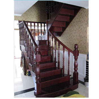 Carved Wood Staircase Railing Types Of Design