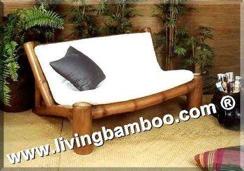 hamburgo 2 assento do sof de bambu buy bambu sof sala de estar mobili rio de interiores. Black Bedroom Furniture Sets. Home Design Ideas