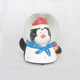Cheap personalized musical penguin figurines water snow globe