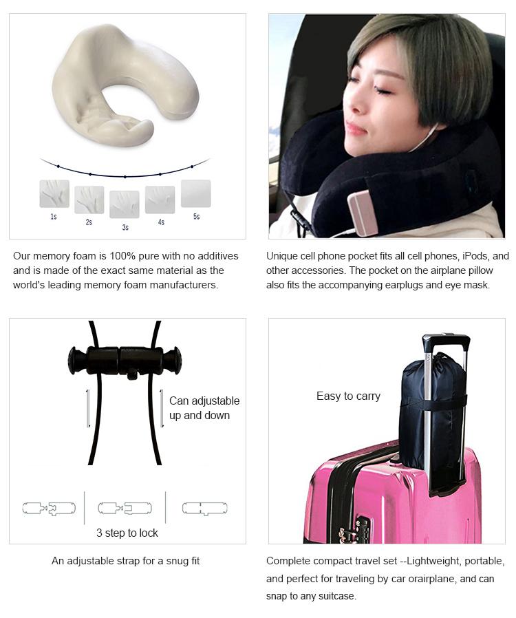 almohadilla del cuello de espuma