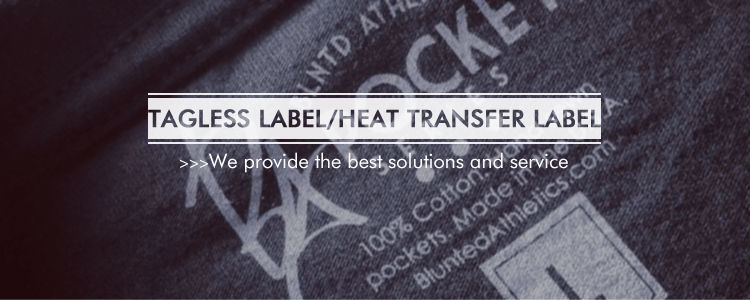 Fashion Garment Brand Heat Transfer Label