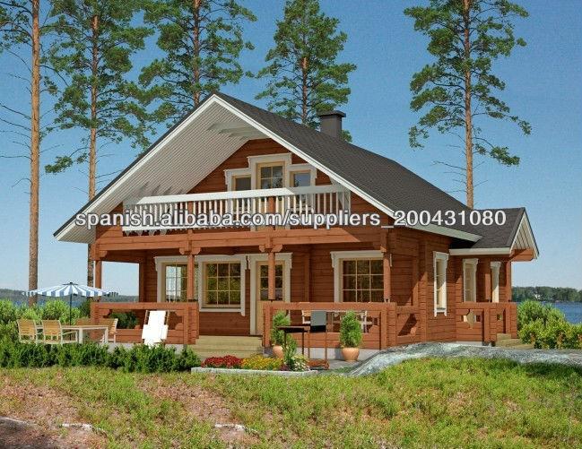 Nuevo dise o de dos pisos de casas prefabricadas de madera - Empresas casas prefabricadas ...