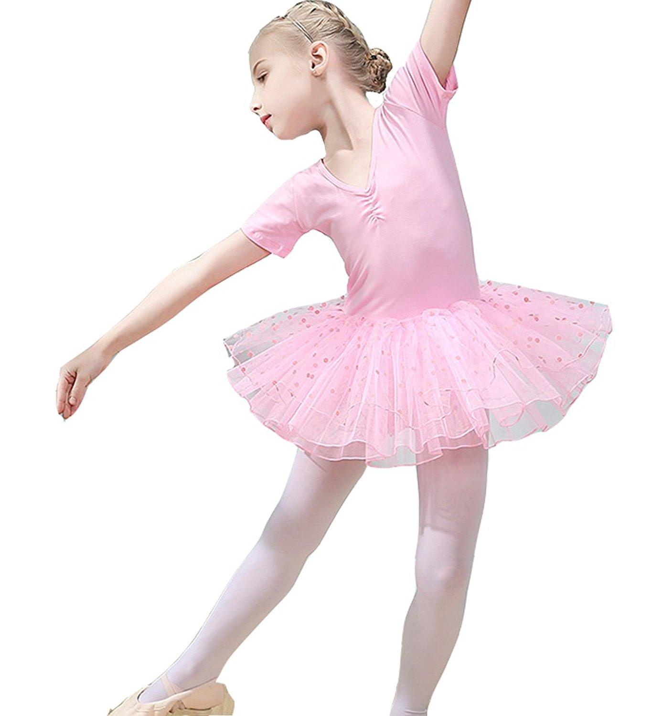 18b99da8 Get Quotations · FOLOBE Toddler Girls Cute Tutu Dress Leotard for Dance  Gymnastics and Ballet dler Girls Cute Tutu