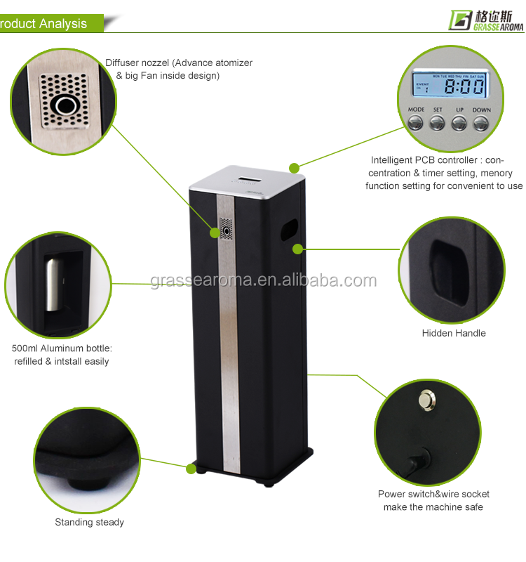 Wholesale 2016 best selling scent air machine for Hotel lobby ...