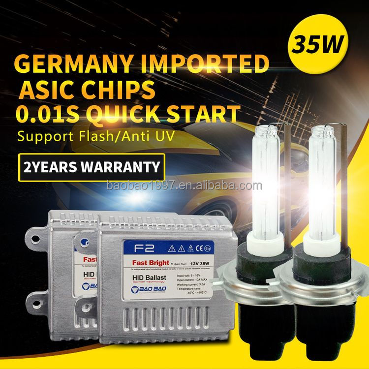 Hot new hot-sale h3 short hid bulb