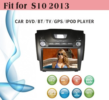 Car Dvd Gps 2 Din Fit For Chevrolet S10 2013 With Radio Bluetooth ...