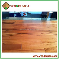 High Quality Cheaply Natural Color Brazilian Tigerwood Hardwood Flooring