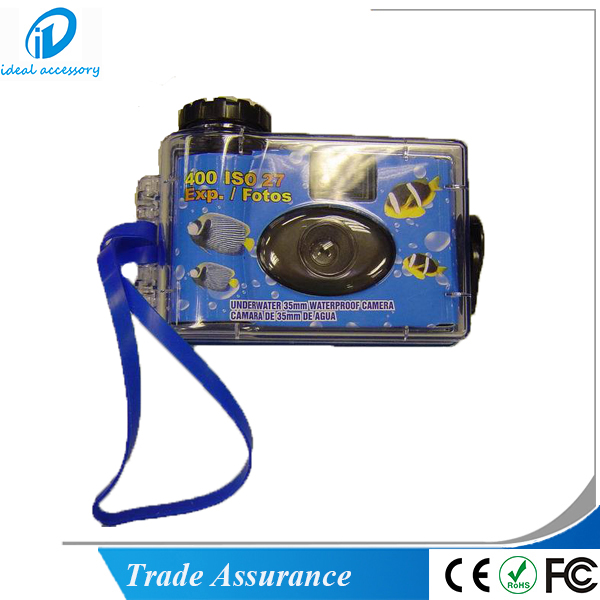 Hot Sale Cheap Disposable Single-Use Waterproof Camera With Fuji film