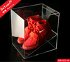 High quality transparent acrylic nike shoe box / shoe box acrylic custom