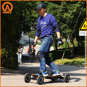 3300 w 45 km/h electric mountain board,dual motor power big skateboard ,lowest price directly offer