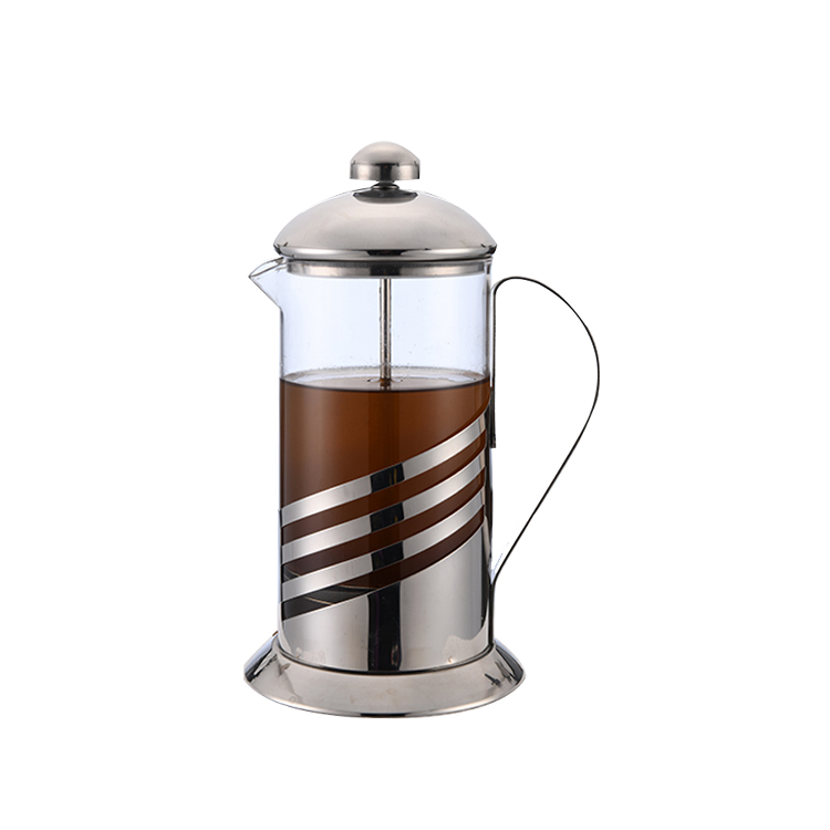 Tahan Panas 350 Ml Bahasa Perancis Stainless Steel Kopi French Press Pot