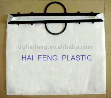 Sell plastic bag&new york handle plastic bag&reclosable plastic handle bags