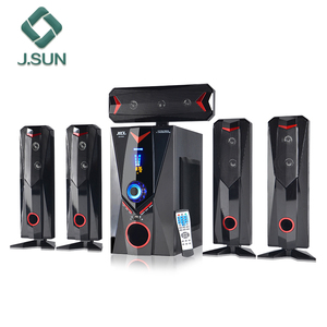 new style 5.1 ch home theater surround sound system with active BT woofer speaker