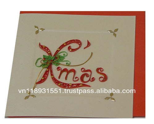 Quilling Art Quilling Card Quilling Christmas Card Buy Quilling Art