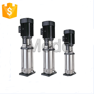 electric stainless steel multistage vertical centrifugal water pump