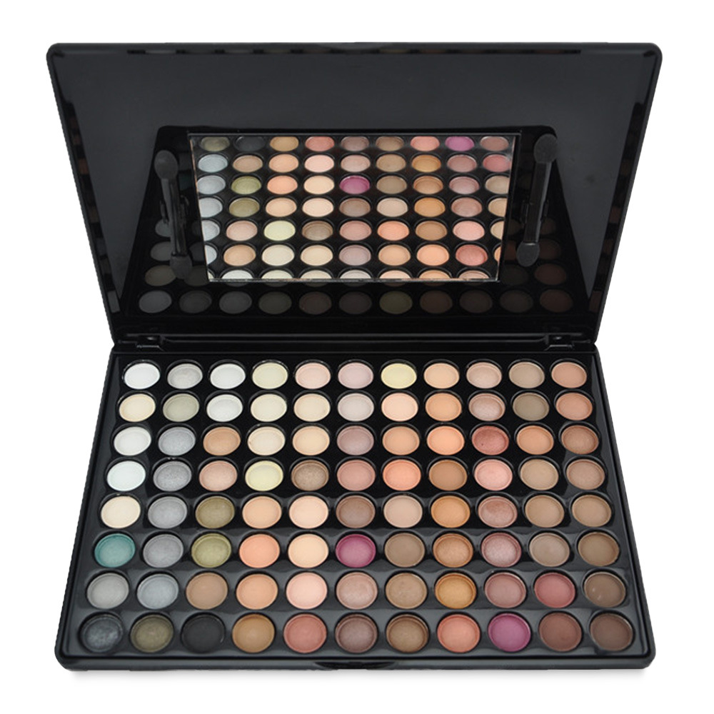 88 color contour neutral matte palette pressed eyeshadow true cover cosmetics