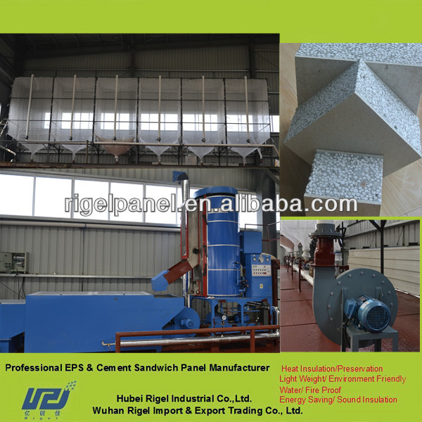 Precast lightweight concrete wall panels machinery