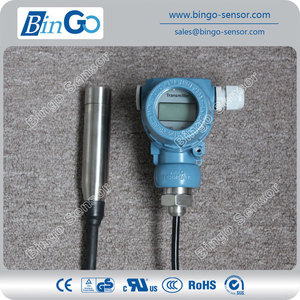 hydrostatic high accuracy submersible level sensor for sea water