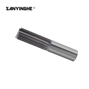 Solid tungsten steel reamer with straight shank 1 / 2.5 / 5 / 10 / 15 / 18 various different shape cutting tools for machine