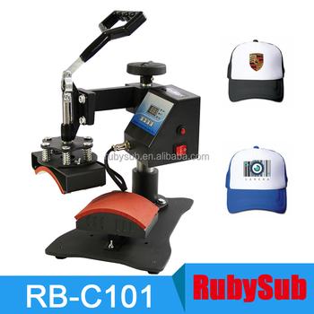 276f48bd19f Cap Heat Press Digital Swing Away Hat Press Machine for Sublimation  Personalised Baseball Cap Printing