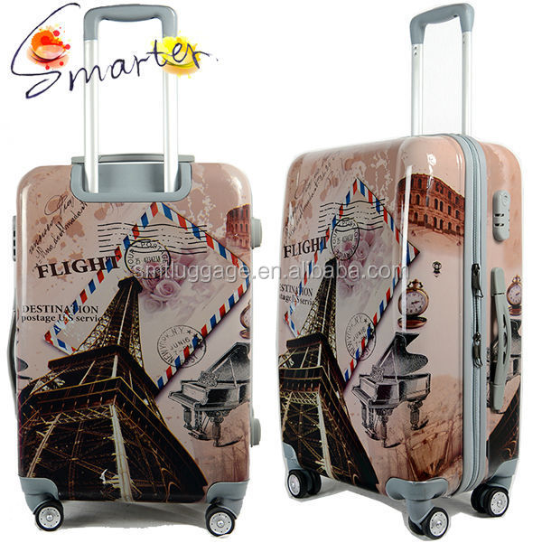 Wholesale Eiffel Tower Printed Abs Hard Suitcase - Alibaba.com