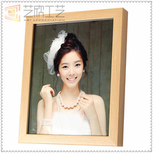 cheap wholesale wooden color 12X18 picture frames,Bedroom wall hanging with painted cardboard photo frames