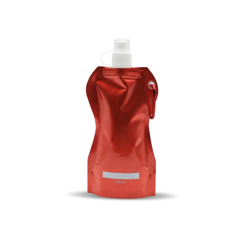 Good quality soft plastic collapsible foldable water bottle