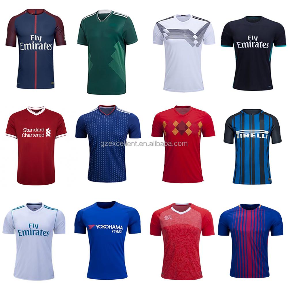 190613ba66030 2018 2019 Copa del Mundo de la venta caliente Tailandia camisetas de fútbol