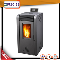 High efficiency wood pellet stove/heater/fireplace
