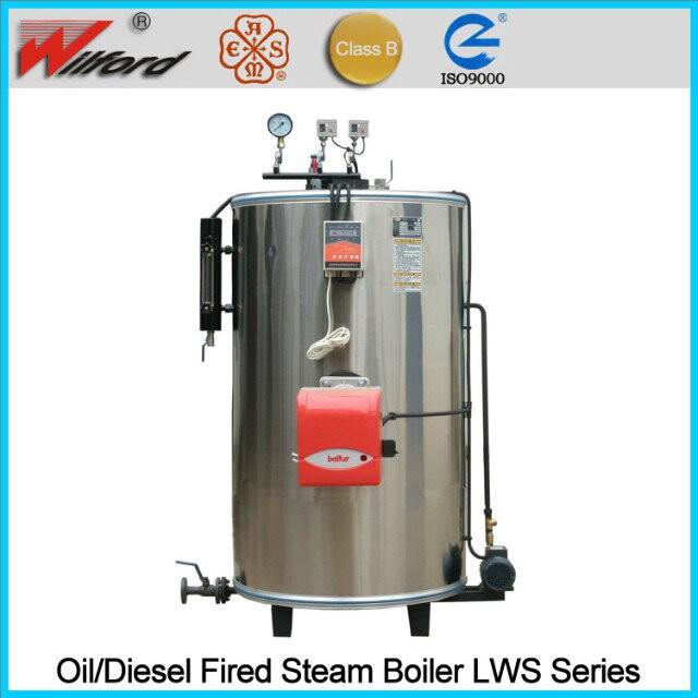 Lpg Fired Steam Boiler Capacity 200 Kg/hr - Buy Steam Boiler ...