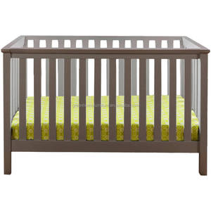 4 in 1 Pine wood Convertible baby crib