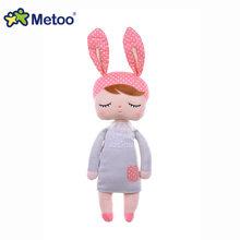 Плюшевые милые мягкие игрушки для девочек, подарок на день рождения, Рождество, 13 дюймов, кукла Анжела, кролик, для девочек(Китай)