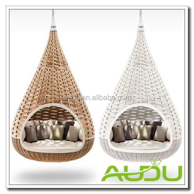 Audu Bird Nest Swing Chairs Patio Swing Rattan Swing Bed