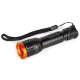 Zoom Dimmer LED Flashlight Portable 5 Modes Rechargeable Hand Torch