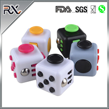 Wholesale Decompression Cube Template Compressive Resistance Agitated Dice Adults Kids Attention Therapy Toys Gift Fidget Cube