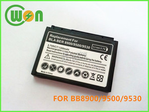 Replacement Battery for BlackBerry DX1 D-X1 8900 9500 9530 Storm 9550 2 9630 Bold 9650 Mobile/Cell Phone Battery