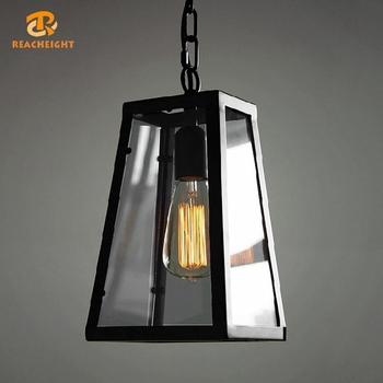 Vintage Antiek Messing Kooi Hanglamp/edison Lamp Lamp/retro ...