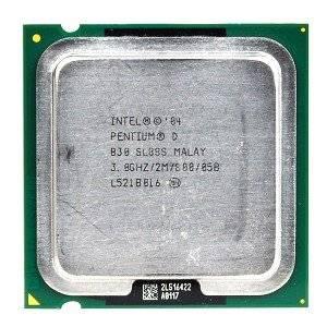 Intel Pentium D 830 3.0GHz 800MHz 2x1MB Socket 775 Dual-Core CPU
