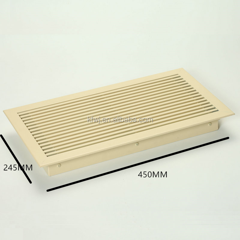 Customized Air Diffuser aluminum extruded heat sinks