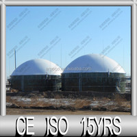 Container House , Double Membrane Biogas House, Biogas Storage System
