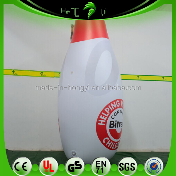 2M Inflatable Protect Oil Bottle, Custom inflatable Replica