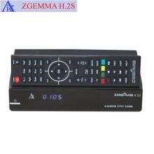 Zgemma H.2S dual core <span class=keywords><strong>migliore</strong></span> hd ricevitore satellitare zgemma h2s con twin tuner DVB-S2 + DVB-S2