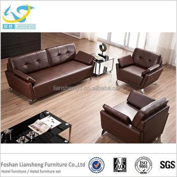 Modernes Sofa Leder Sitzgruppe Büro Verwenden Business Möbel Elegant ...