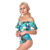 Promotional OEM wholesale plus size swimsuit summer new design woman one shoulder swimsuit