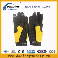 winter protection leather sport gloves golf sports gloves