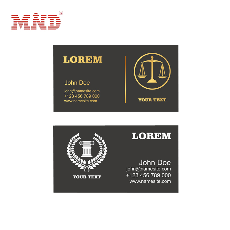 Pvc customer diy dentist business cards for promotion