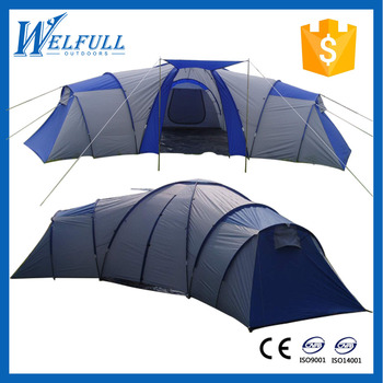 Folding Tunnel Tent Extra Large C&ing Family Size Tent 8 - 10 Person Tent  sc 1 st  Alibaba & Folding Tunnel Tent Extra Large Camping Family Size Tent 8 - 10 ...