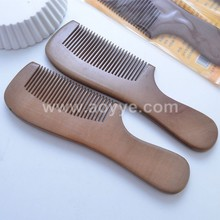 Wholesale Customized Logo Sandalwood Hair Comb Wooden Combs