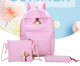 School bags 2018 kids backpack school bags set 3 in 1 schoolbag for children bag backpack
